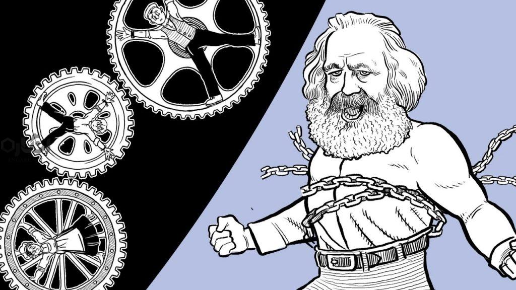 مفهوم بیگانگی از نظر مارکس