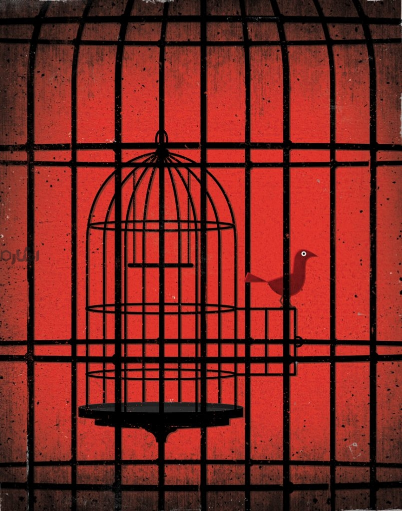 Freedom illusion 805x1024 - آزادی و گفتمان رسمی - ولتر, وقار استبدادی, محمد مختاری, گفتمان رسمی, سیستم اجتماعی, روشنگری, دیگری, آزادی