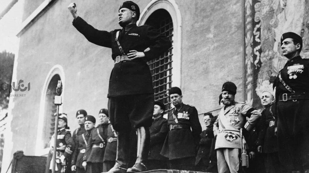 mussolini 1024x576 - توتالیتاریسم، اقتدارگرایی و فاشیسم، تفاوت در چیست؟ - موسولینی فاشیست, فاشیسم چیست, دیکتاتور, توتالیتریسم چیست, توتالیتر چیست, توتالیتاریسم, تفاوت فاشیسم و, ایدئولوژی, اقتدارگرایی چیست, اقتدارگرایی, آدولف هیتلر